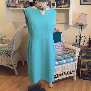 Beautiful Kasper 18W New w/Tags SeafoamGreen Dress